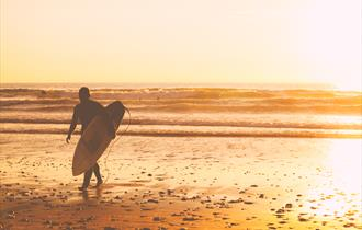 BUCS Surf Championships on Newquay's Fistral Beach
