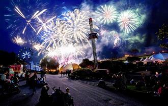Halloween Fireworks Spectacular at Flambards