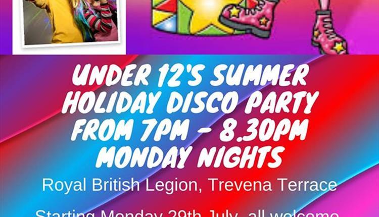 Children's Disco Party at The Royal British Legion