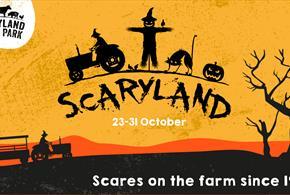 'Scaryland' Halloween and Half Term Fun at Dairyland!
