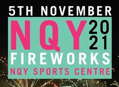 Newquay's Firework Display at NQY Sports Centre