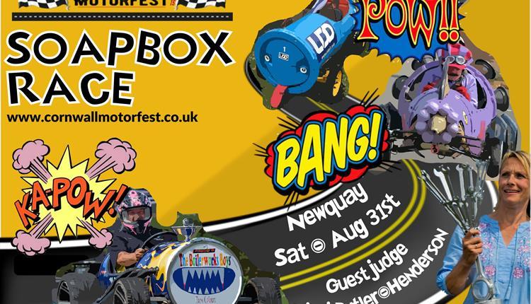 Soapbox Race at Cornwall MotorFest