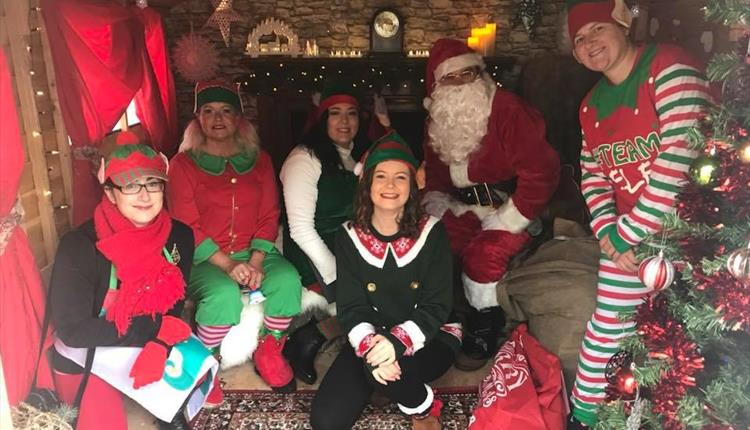 Newquay at Christmas FREE Santa's Grotto