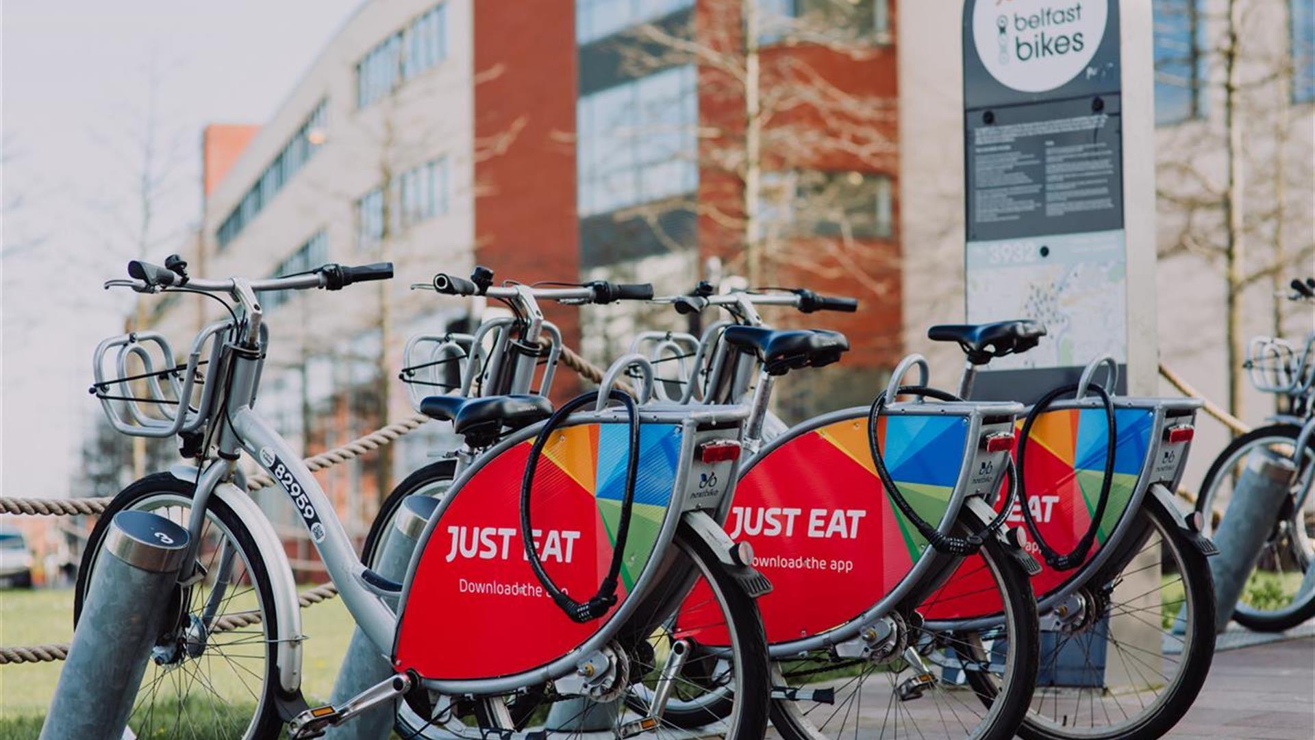 Belfast Bikes: Public Cycle Hire