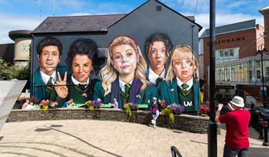 Derry Girls Mural