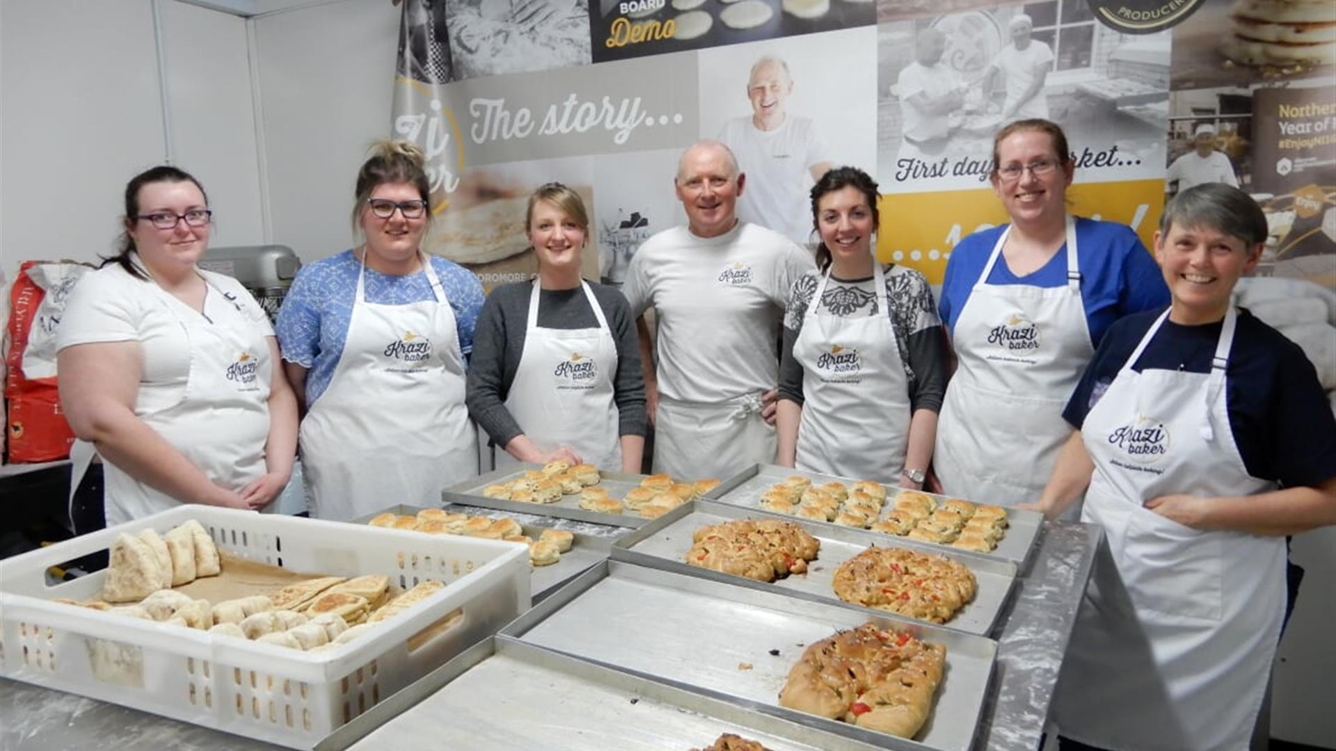 Krazi Baker Baking Classes