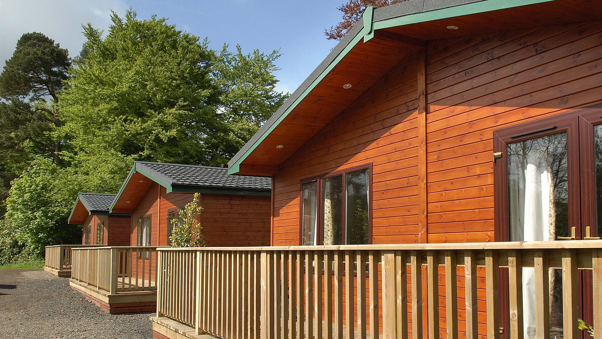 Galgorm - Riverside Log Cabins