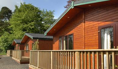Galgorm Spa & Golf Resort: Riverside Log Cabins
