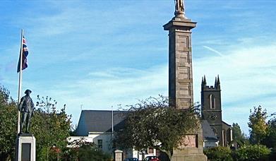 Rollo Gillespie Monument