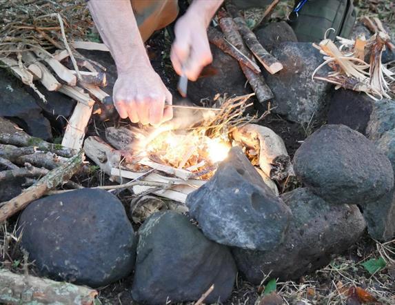 Overnight Bushcraft Camp