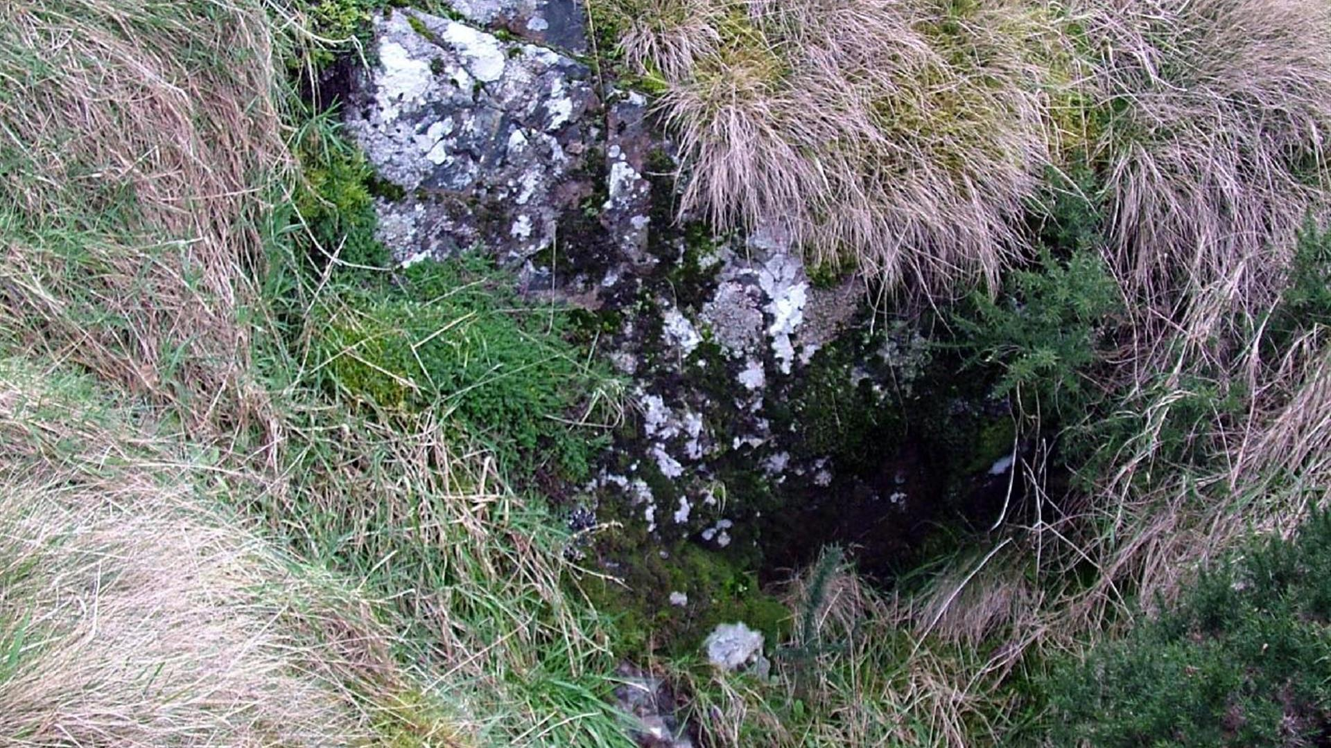 St Colmcille's Bed, Chair & Holy Well