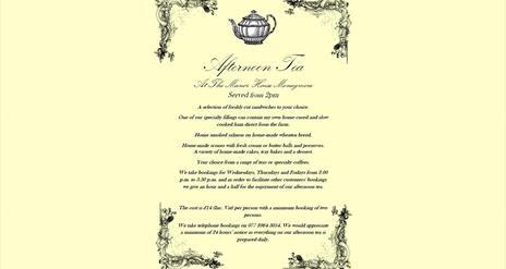 Moss-Brook Farm Shop / The vintage Tea room