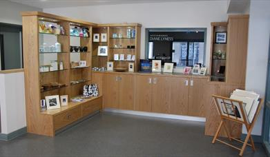 View of the Shop in Down Arts Centre, Downpatrick