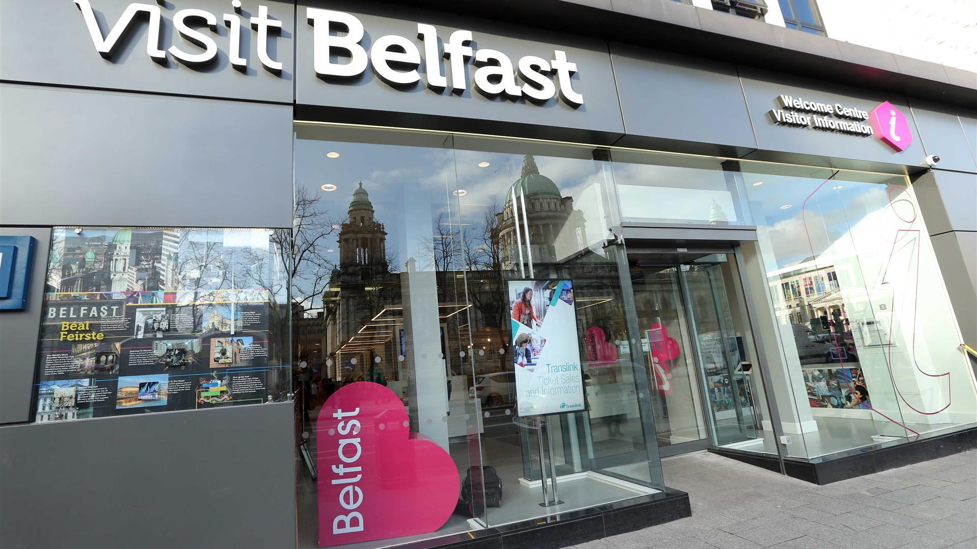 Visit Belfast Welcome Centre Tourist Information