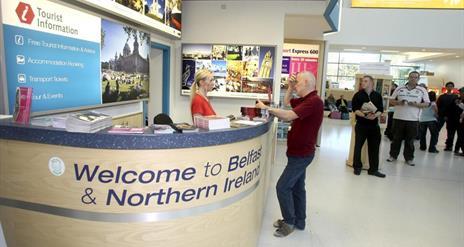 George Best Belfast City Airport Tourist Information Desk