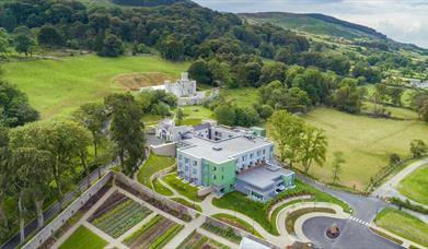 Luxury Killeavy Castle Hotel and Spa in Newry, Northern Ireland.