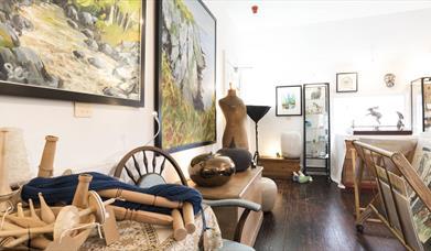 Top Floor Art Gallery and Open Studios