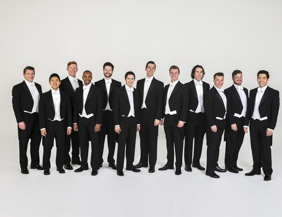 American a cappella ensemble Chanticleer, who will perform as part of the 2021 Festival.