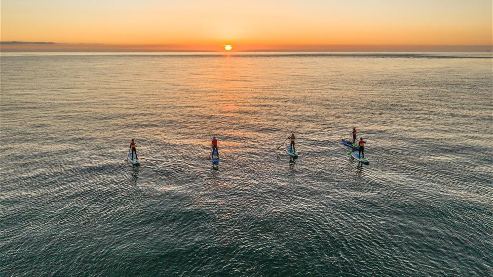 Get up & Get on Paddleboarding