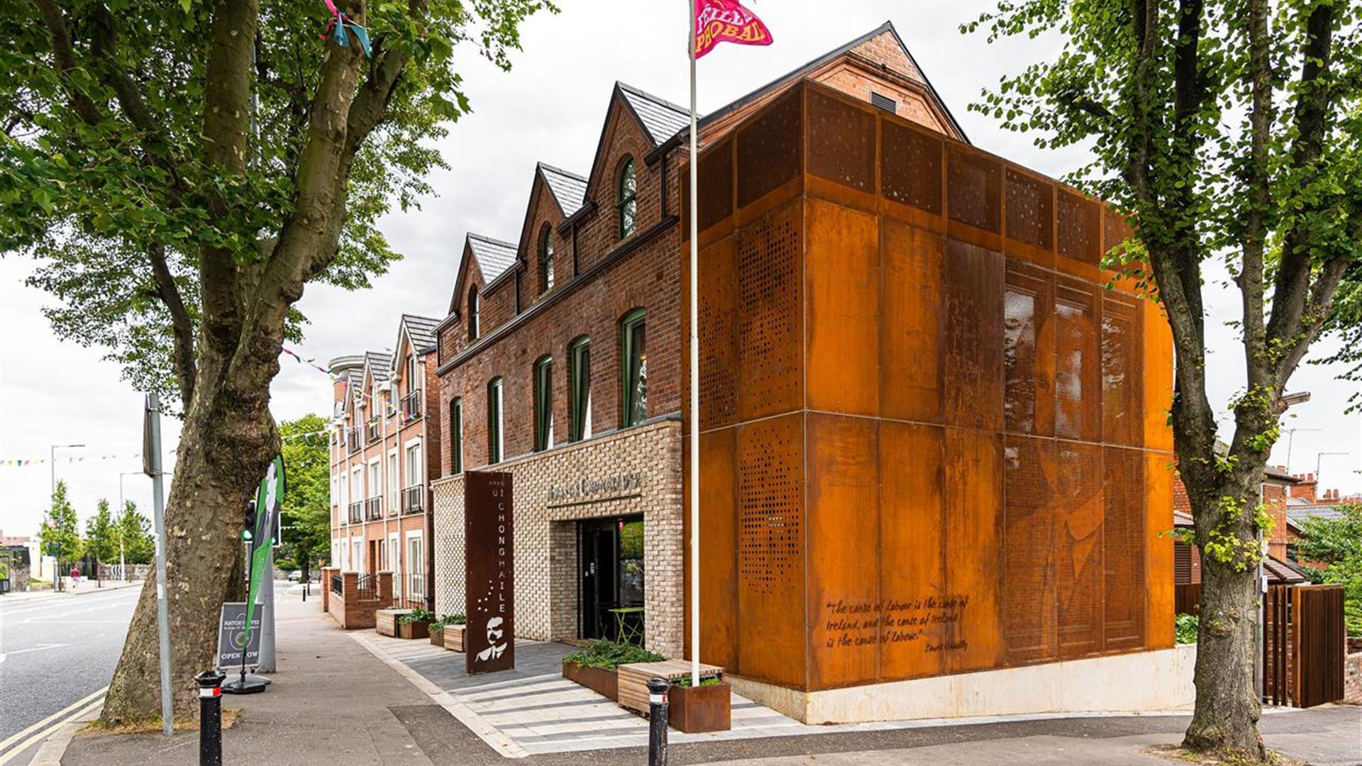 Áras Uí Chonghaile - James Connolly Visitor Centre