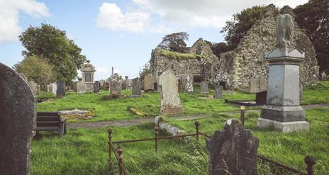 Templecorran Church graveyard