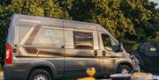 Image is of campervan for hire