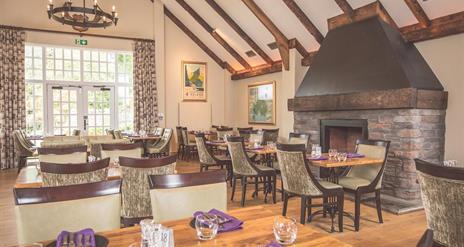 The Garden Restaurant at Ballygally Castle