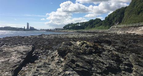 Larne's Jurassic Coastline - Waterloo Bay