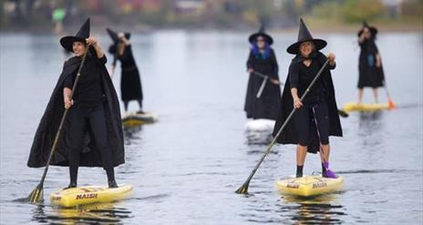 Halloween Party paddle