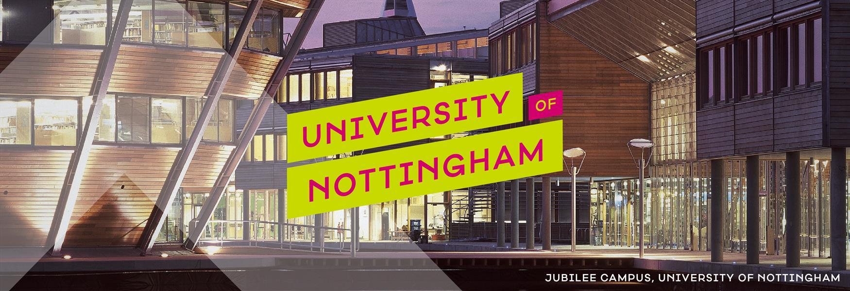 University of Nottingham Banner