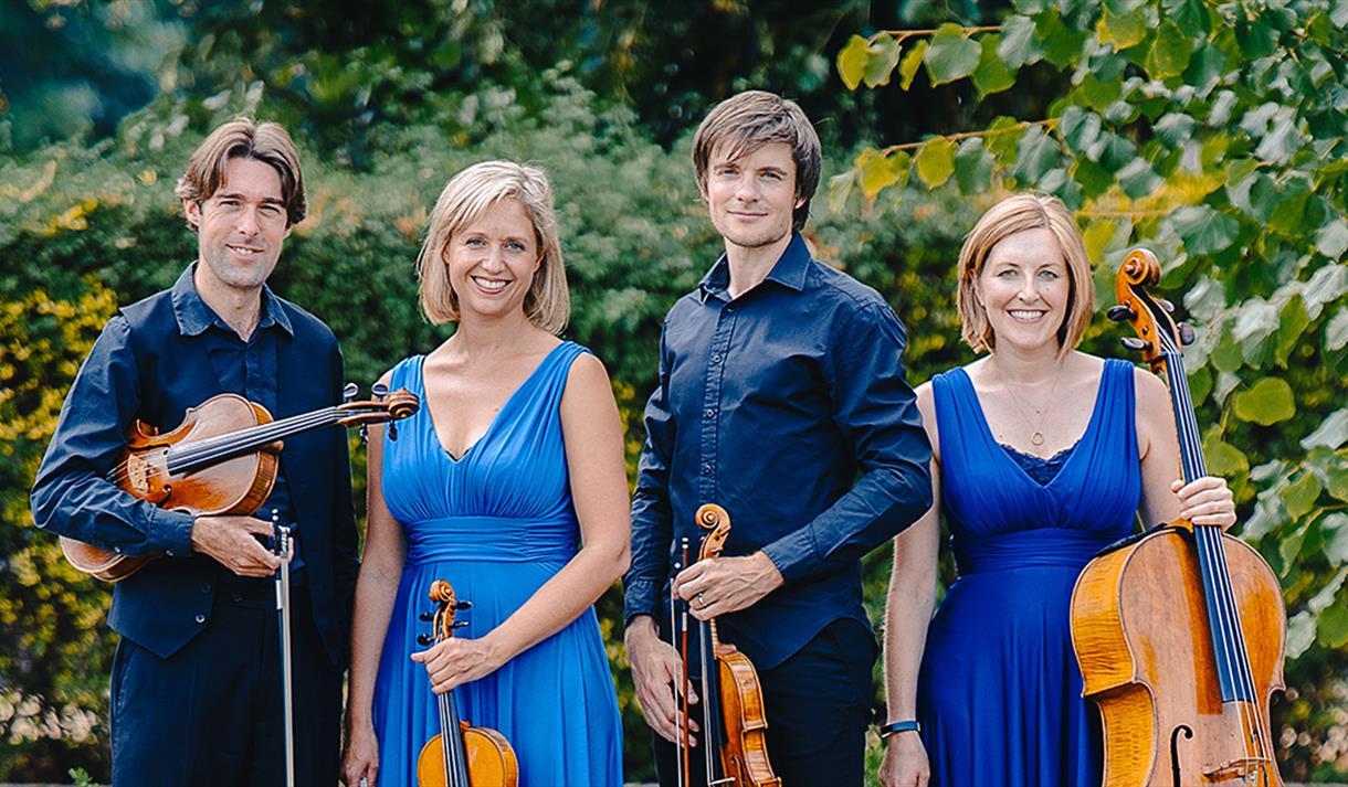Sacconi Quartet at The Royal Concert Hall