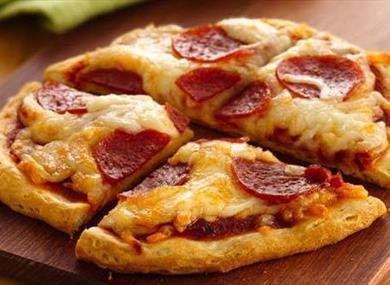 Mini Pizza Baking