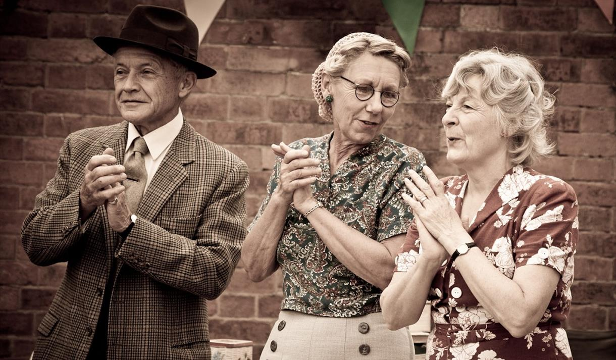 1940s Weekend Rufford Abbey | Visit Nottinghamshire