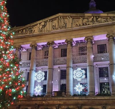 Council House and Christmas Tree 2020
