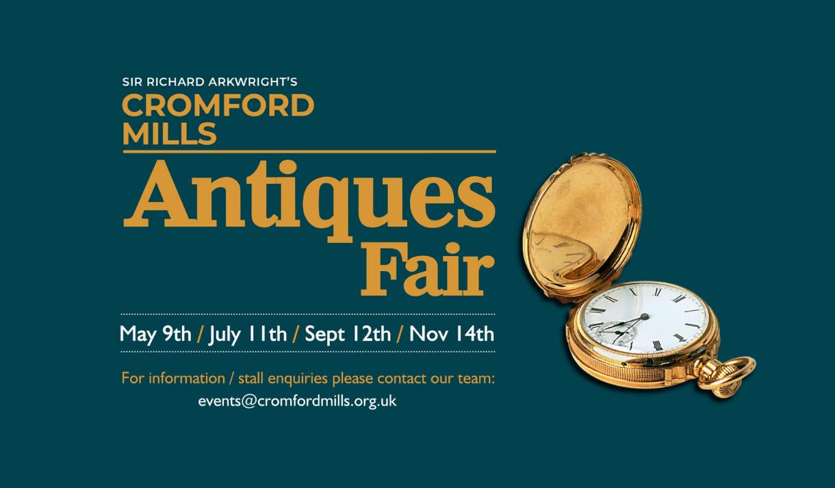 Antique Fair at Cromford Mill