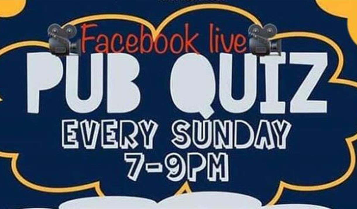 The Trent Navigation Facebook Live Pub Quiz