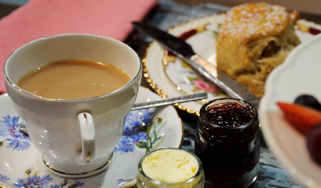 Debbie Bryan Afternoon Tea menu
