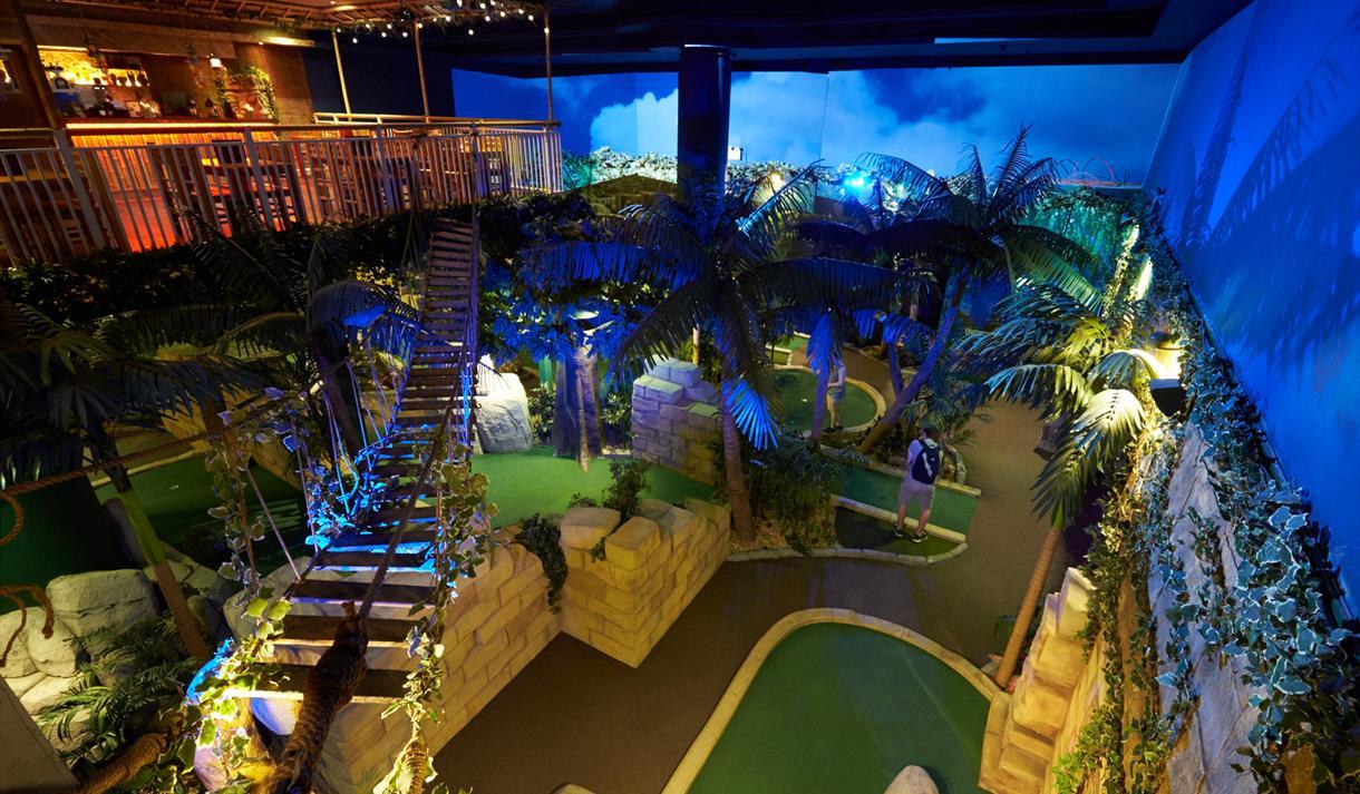 The Lost City Adventure Golf 5th Birthday Celebration