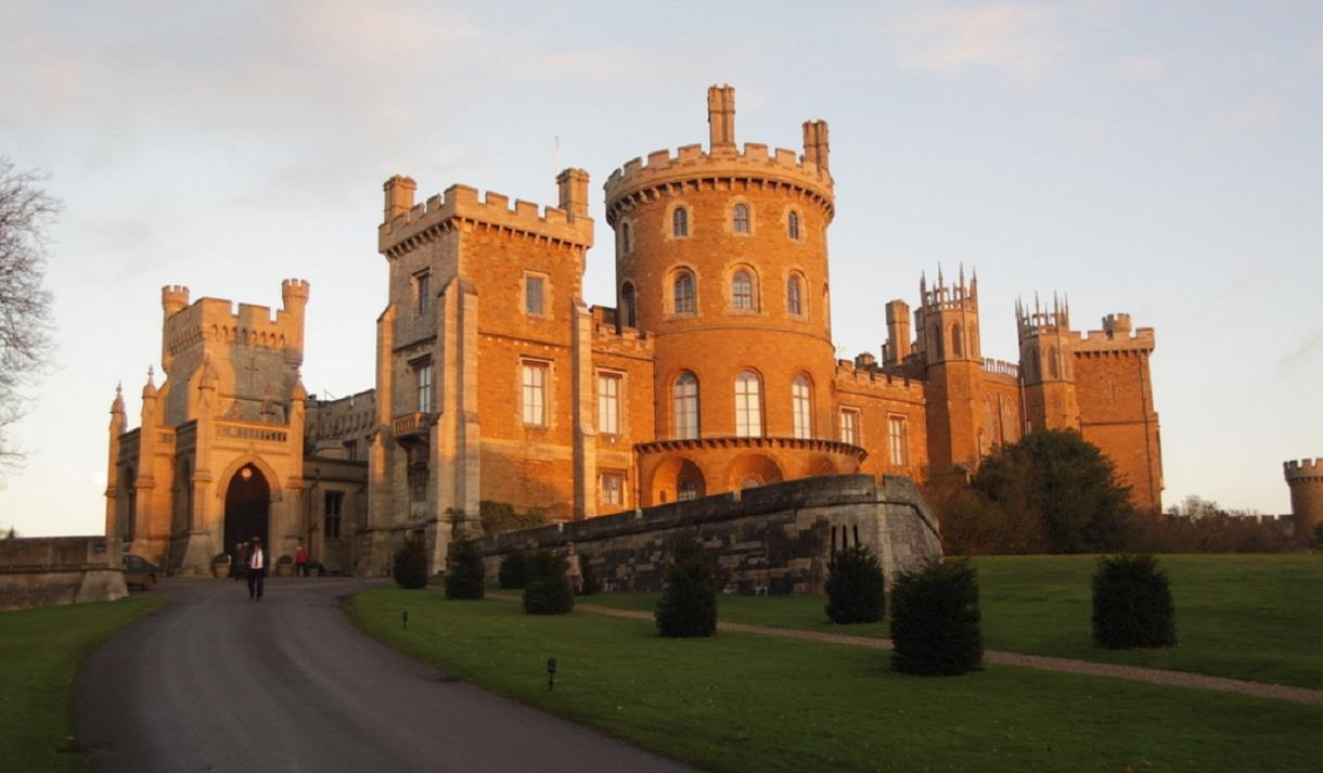 The Big Dog Walk at Belvoir Castle