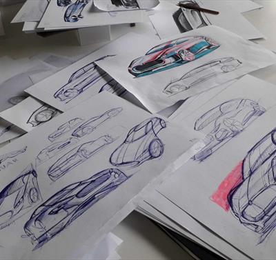 Car Design for 15 - 17 Year Olds - Short Course at NTU, Nottinghamm Trent University