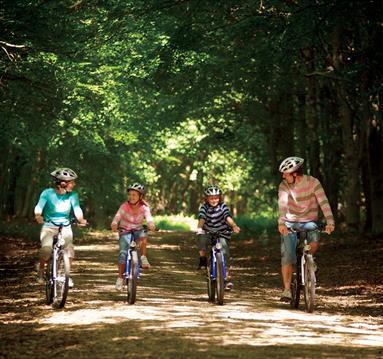 Cycling at Clumber Park