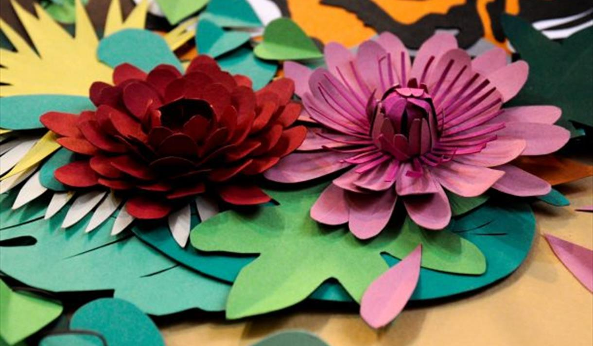3D Paper-craft Artwork Workshop