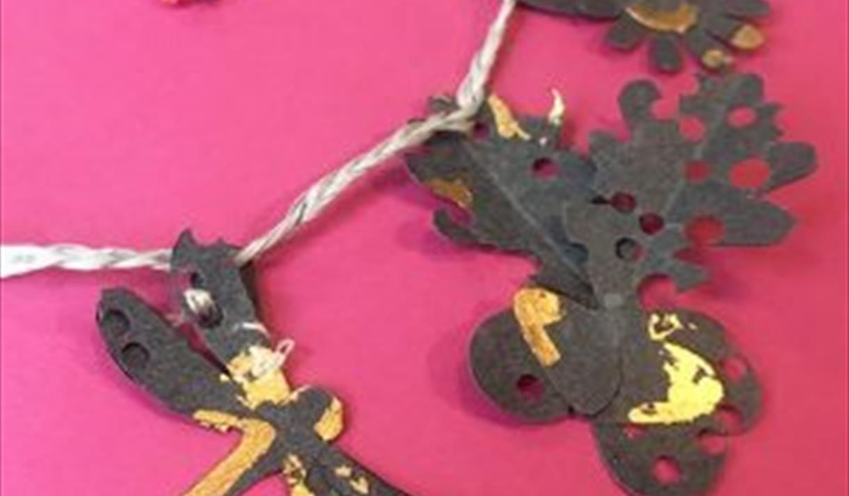 Nottingham Lace Punchcard Crafternoon