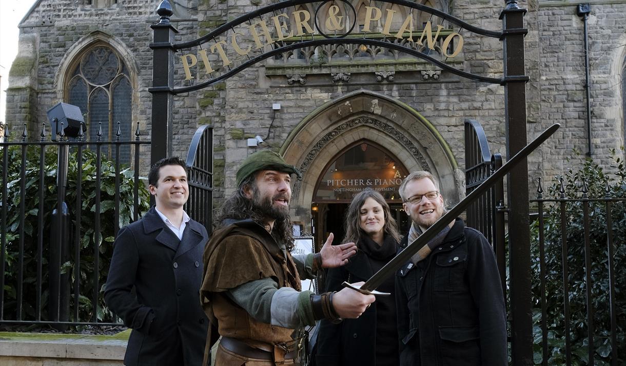 Ezekial Bone's Robin Hood Tours of Nottingham