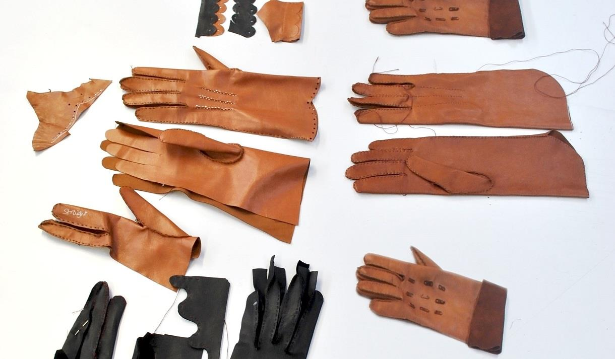 Glove Making with Leather - Short Course at NTU, Nottingham Trent University