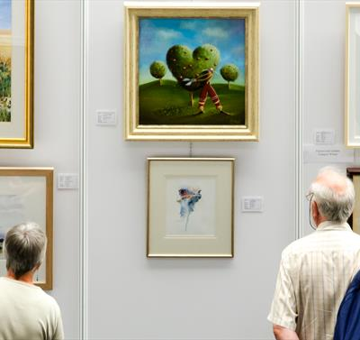 'An Artistic Wonderland', Artists of the Year 2021 exhibit at the Nottingham Society of Artists.