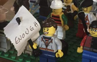 Special Half Term Workshop: Lego Mini Protest with Make to Make