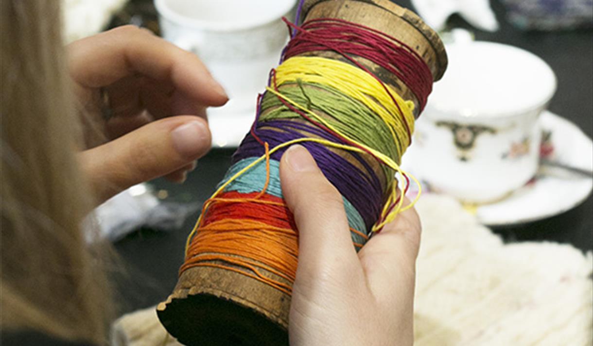 Hand Woven Wrist Warmers