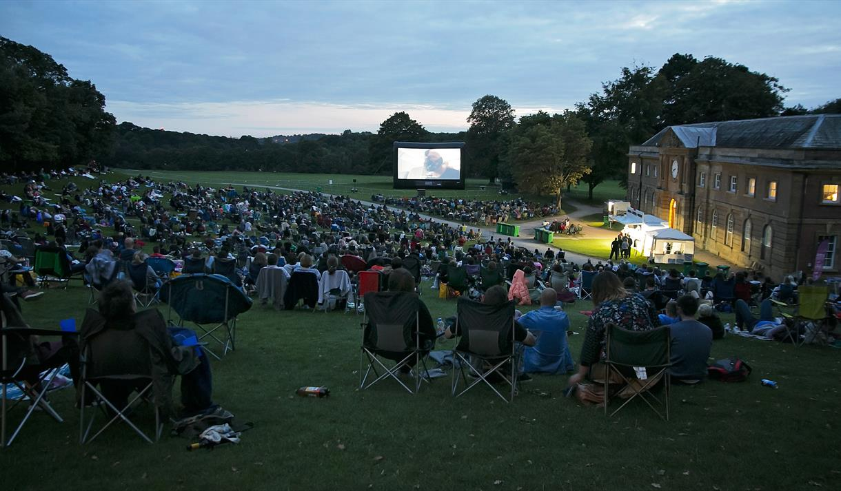 Outdoor Cinema 2021 at Newstead Abbey