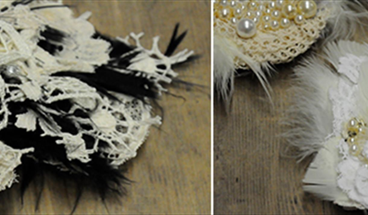 Crafternoon: Lace AppliquéCuff, £32